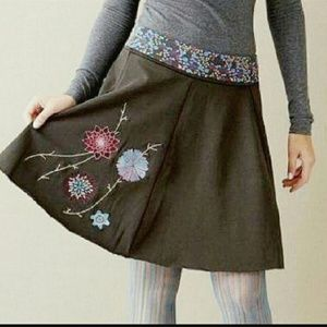 Matilda Jane Paint By Numbers Embroidered Skirt